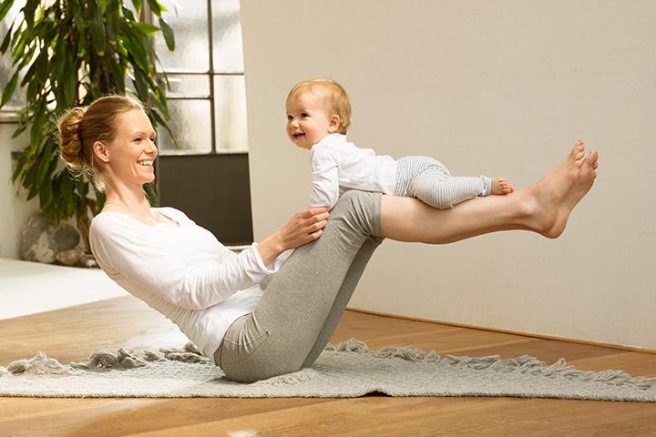 ออกกำลังกายเพื่อลดน้ำหนักหลังตั้งครรภ์