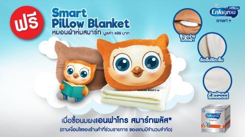 ฟรี! Smart Pillow Blanket