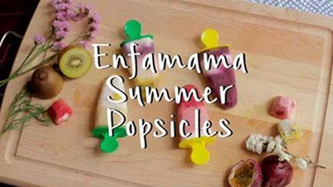 Enfamama Summer Popsicles