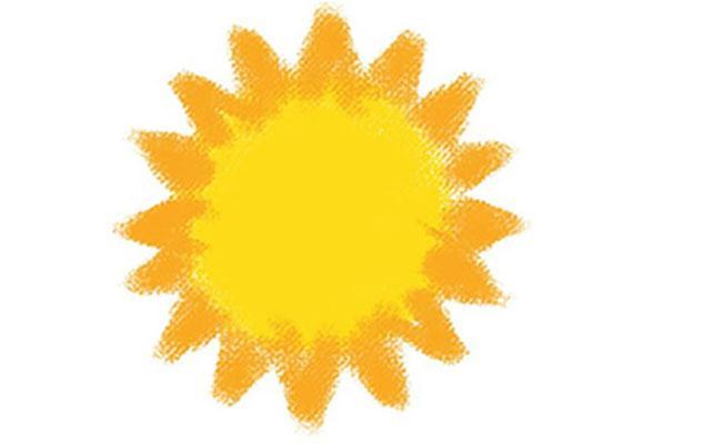 ทำไมพระอาทิตย์ถึงกลมเหมือนไข่ดาว?