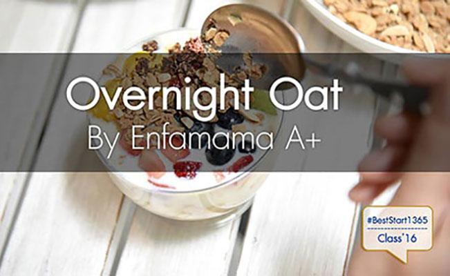 Overnight Oat Parfait